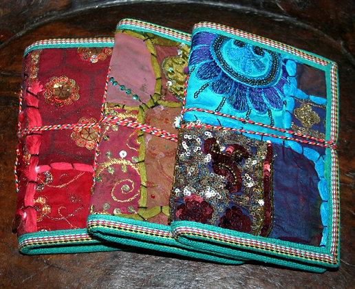 Patchwork Sari Book Small