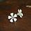 Thumbnail: White Flower Studs