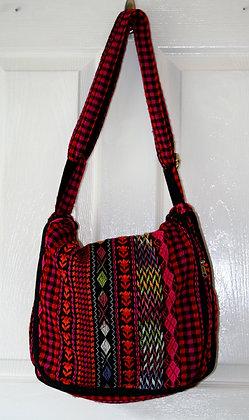 Red Aztec Shoulder Bag