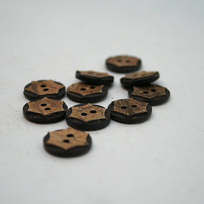 Wood Buttons - Pack of 10