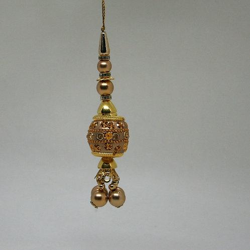 Embellished Gold Christmas Decoration