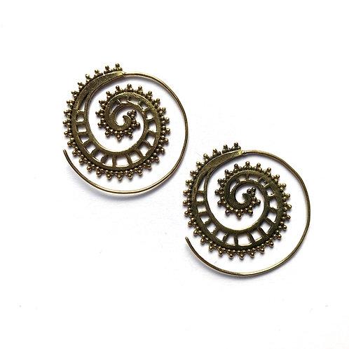 Square Swirl Earrings