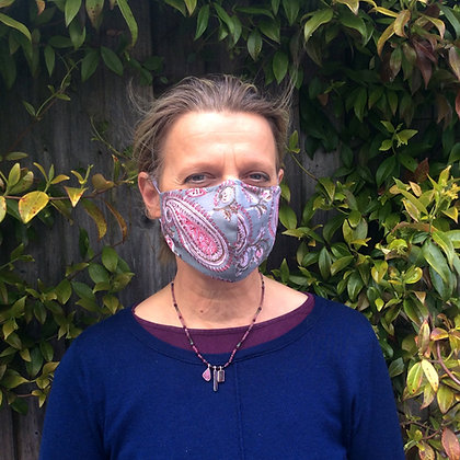 Washable Face Masks with Elastic Ear Loop - various prints