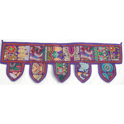 Purple Patchwork Toran