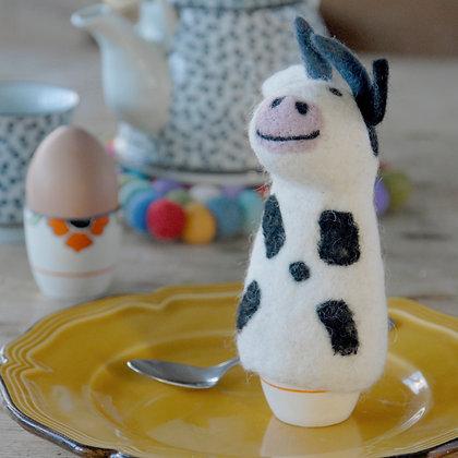 Cow Felt Egg Warmer
