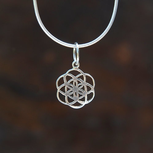 Flower Mandala Pendant