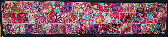 Pink Patchwork Table Runner