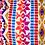Thumbnail: Pink Aztec Shoulder Bag