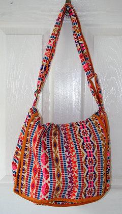 Pink Aztec Shoulder Bag