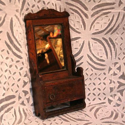 Rajasthani Wooden Bathroom Mirror