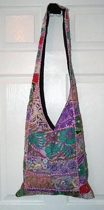 Lavender Patchwork Bag
