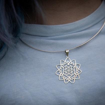 Heart Mandala Pendant