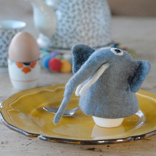 Elephant Felt Egg Warmer