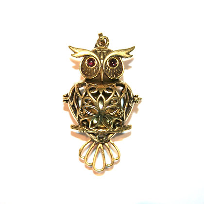 Owl Singing Bell