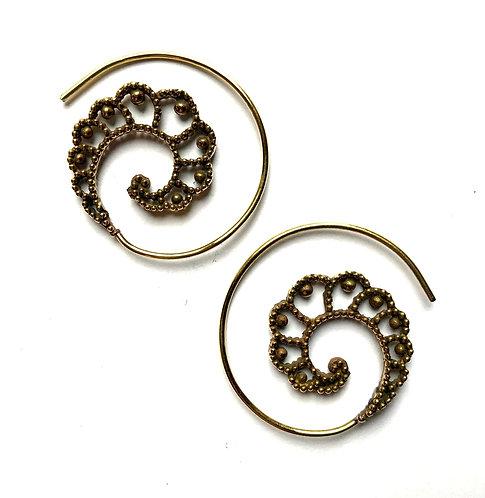 Dotty Swirl Earrings