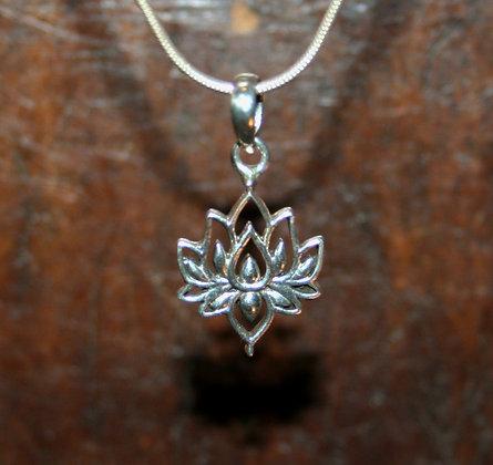 Classic Lotus Flower Pendant