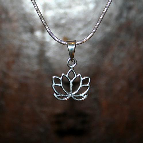 Lotus Flower Pendant - 9 Petals