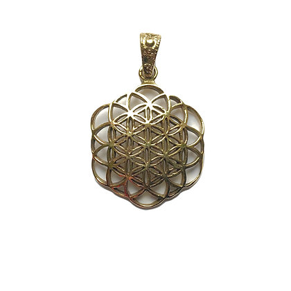 Flower of Life Mandala Pendant