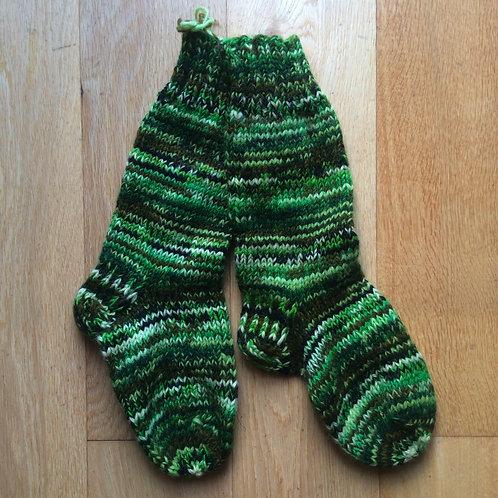 Hand-Knitted Socks