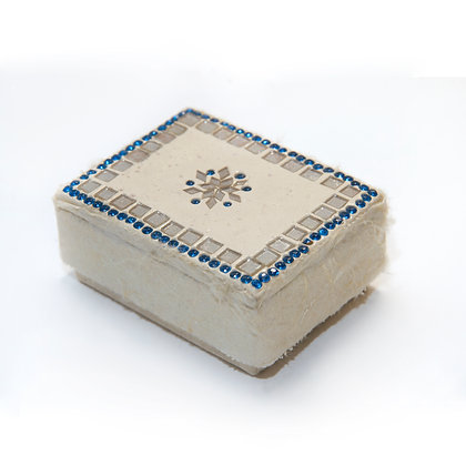 Hand Crafted Paper Box With Laq Lid