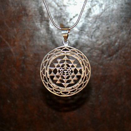 Triangular Mandala Pendant