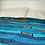 Thumbnail: Blue Sari Bedspread Double