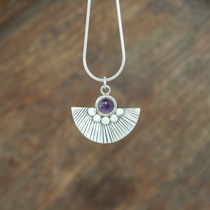 Traditional Amethyst Pendant