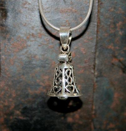 Heart Bell Pendant