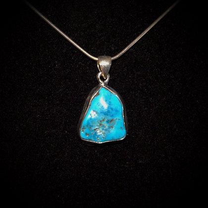 Polished Turquoise Pendant