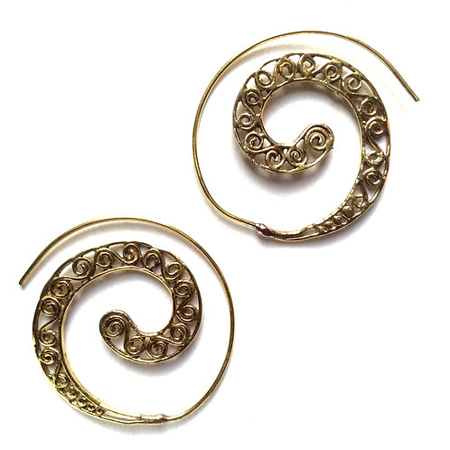 Sea Spiral Earrings