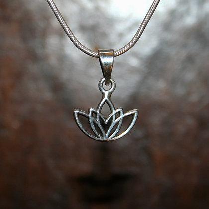 Lotus Flower Pendant - 5 Petals