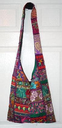 Purple Patchwork Bag