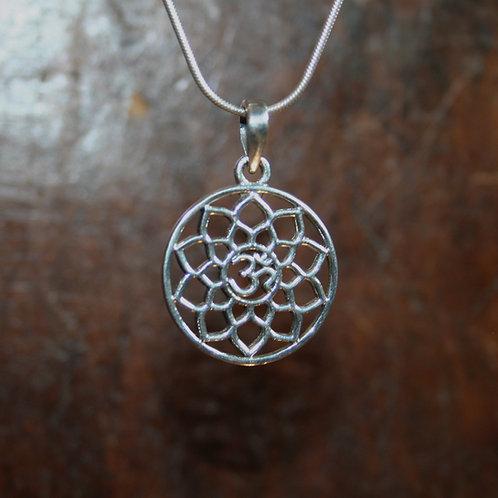 Mandala OM Pendant