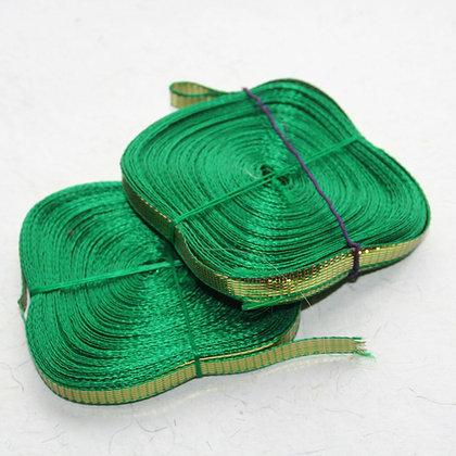 Thin Green Ghota Ribbon