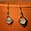 Thumbnail: Diamond Rainbow Moonstone Earrings