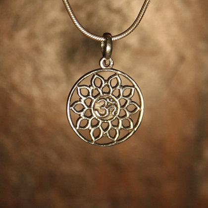 Small Mandala OM Pendant