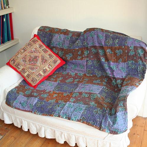 Square Patchwork Cotton Cover