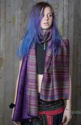 Purple Model Scarf