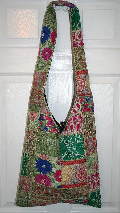 Pale Green Patchwork Bag