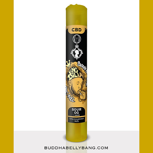 "Buddha Belly Bang™ x JDYF - ""King Dilla"" CBD Pre-Roll (1g)"