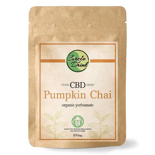 CBD Infused Yerba Mate (Pumpkin Chai)