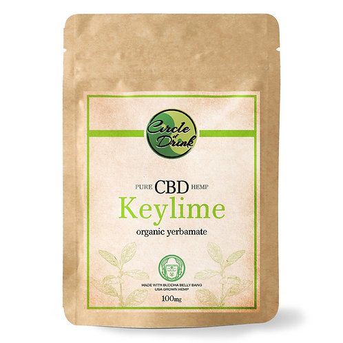 CBD Infused Yerba Mate Tea (Keylime)
