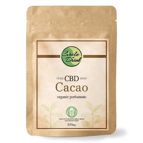 CBD Infused Yerba Mate Tea (Cacao)
