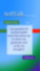 SelfTalk 7 3-Gratitude - iPhone 6s Plus