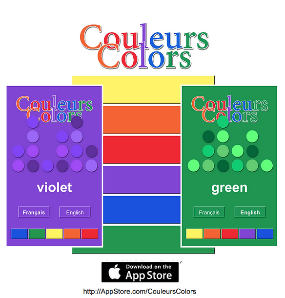CouleursColors - An App for Kids! www.AliceHamptonDickerson.com