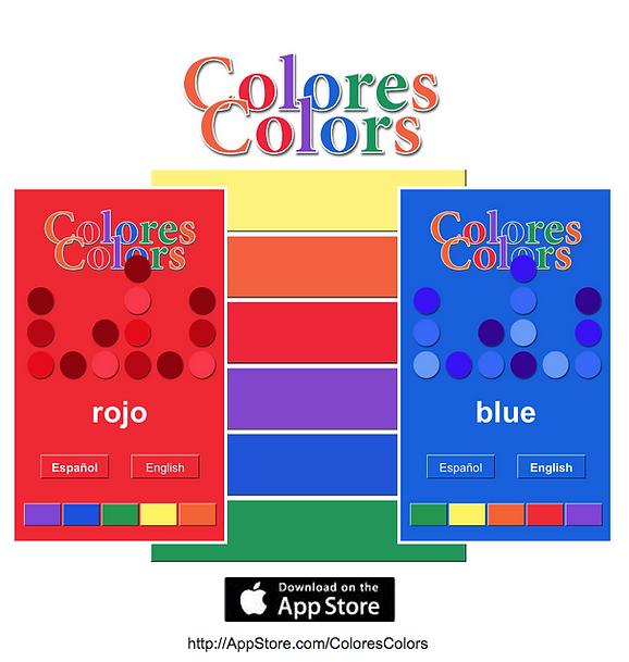 ColoresColors - An App for Kids! www.AliceHamptonDickerson.com