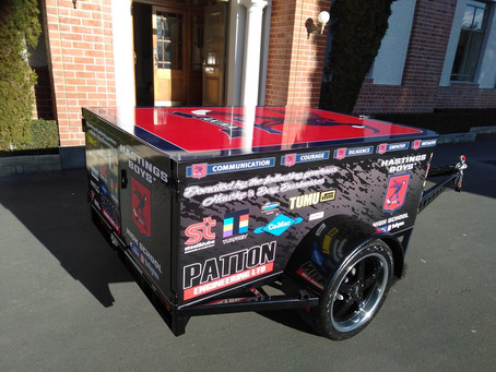 Our Patton Engineering BBQ Trailer
