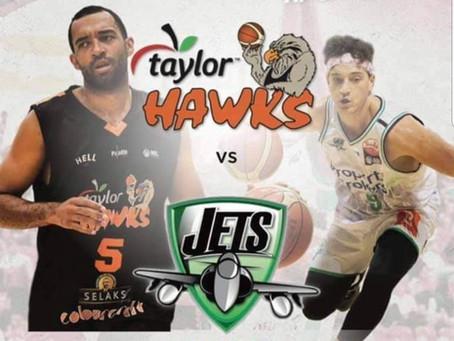 Jets vs Hawks - 17 April