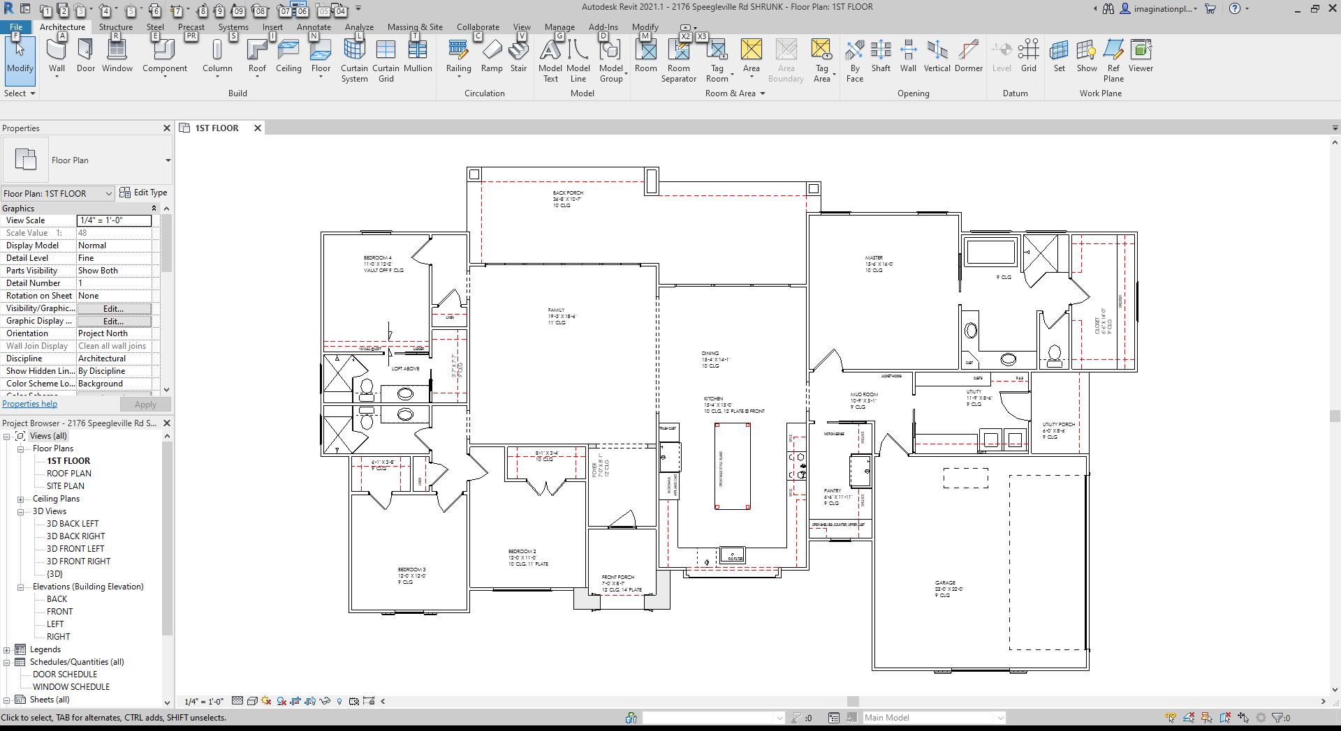 Autodesk Revit 2021.1 - [LG 2 story 1 do