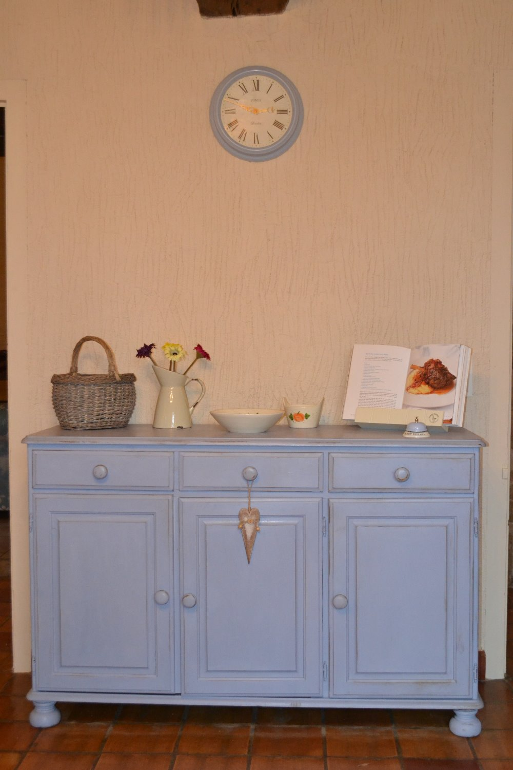 Lovely chalk-painted French dresser